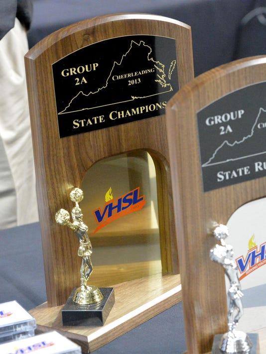 VHSL State Cheer Championships 2013