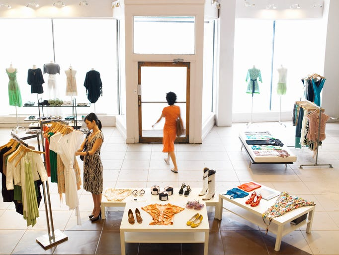 Visiting a large retail company's flagship store is often a heady event.  Flagships are one of a company's highest visibility options for expressing their aesthetic point of view.