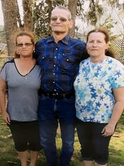 Triplets and Southern Tier natives Shelia Flood, left,