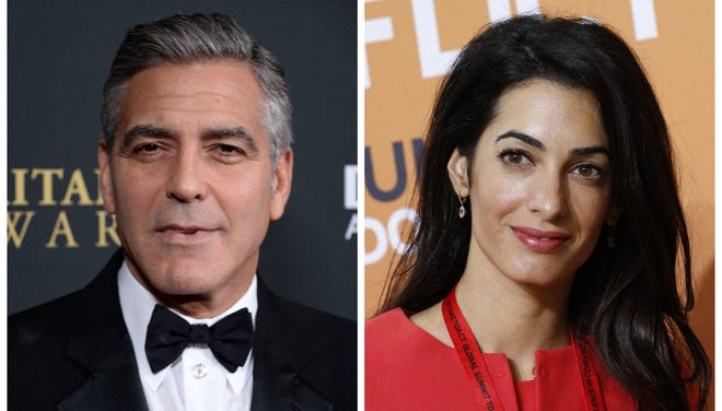 George Clooney slammed a recent 'Daily Mail' story about fiancee Amal Alamuddin's mother, which Clooney says is completely untrue.