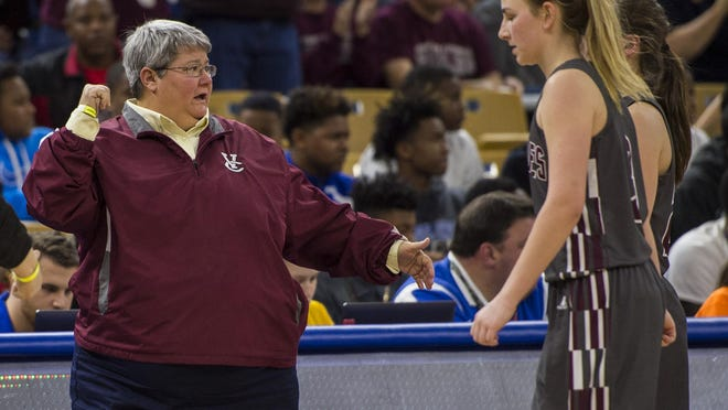 Vermilion Catholic head coach Kim Guidry's Lady Eagles got a huge District 7-1A win over Gueydan on Monday.