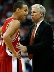 Davidson coach Bob McKillop is an avid fan of his former