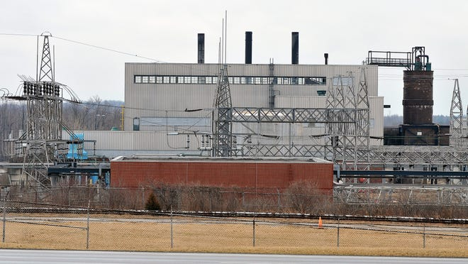 This is the view of the former General Motors plant from West Fourth Street in a News Journal file photo.