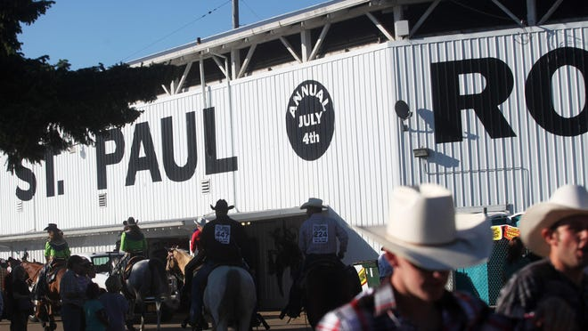 Behind the scenes at the St. Paul Rodeo on Friday, July 1, 2011.