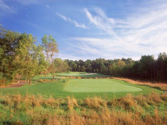 Lyon Oaks golf course in Wixom.