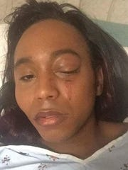 Bree Holloman went to the hospital Monday after she