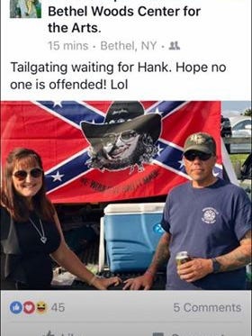 A photo Assemblyman Parker Space, R-Sussex, posted to his private Facebook page on Aug. 26, 2017.