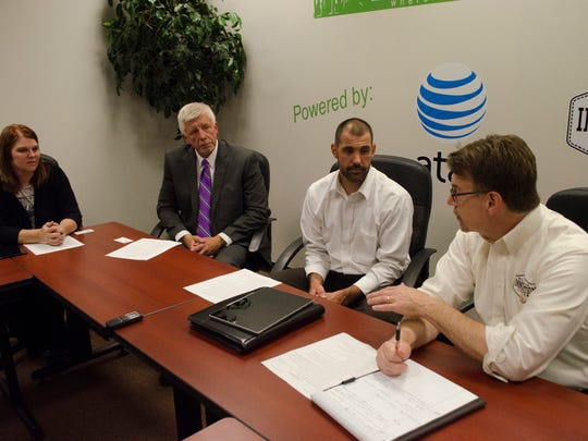 Area workforce development experts took part in a roundtable on the topic at the Richmond Innovation Center on Thursday, June 30, 2016.