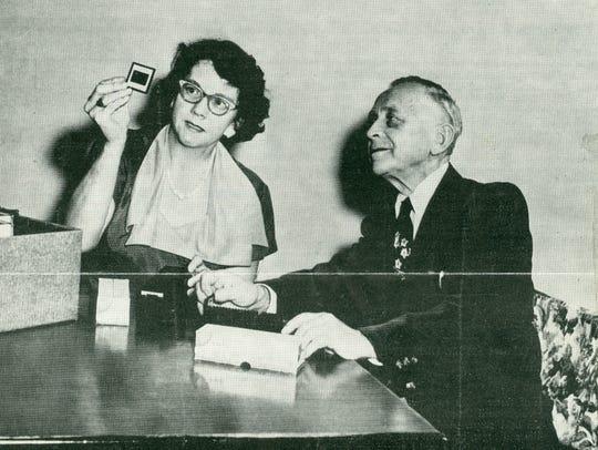 Dr. Friedrich Eigenberger and Cordelia Schrader Eigenberger
