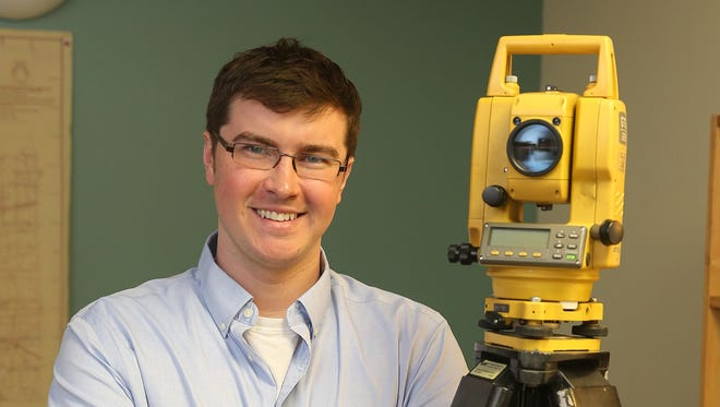 Jon Navagh is a surveying/mapping technician with Ravi Engineering.