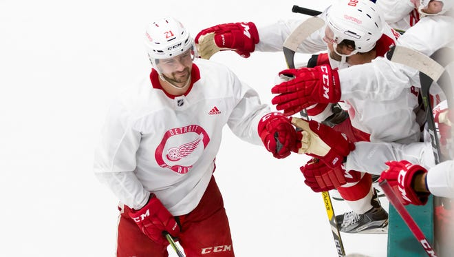 Tomas Tatar had surgery over the summer to cure a shoulder injury that was becoming more bothersome.