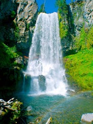 Tumalo Falls1