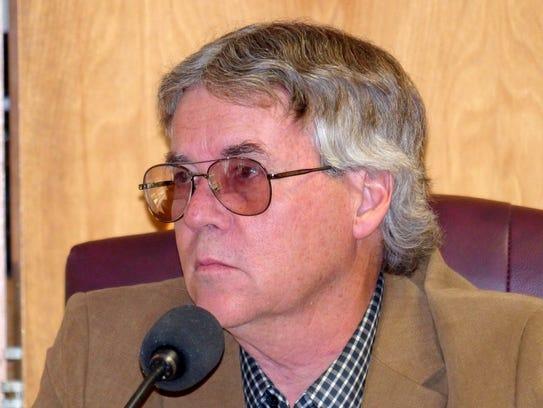 Ruidoso Councilor John Cornelius assured a women liviing