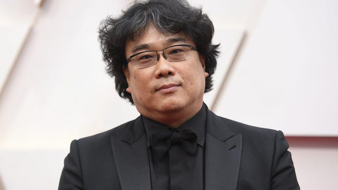 "Bong Joon-ho, seen here at the Oscars this year, directed ""Memories of Murder"" early in his career."