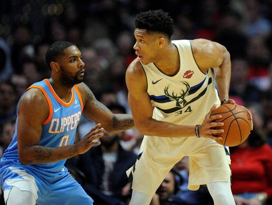 NBA: Milwaukee Bucks at Los Angeles Clippers