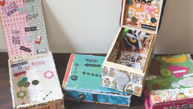 Soul boxes are a great craft for parents, kids and groups of friends to tackle.
