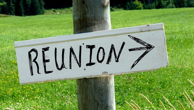 Don't miss your school or group reunion.