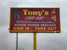 Tony's Chop Suey closes after 34 years