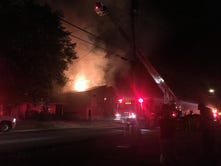 Fire at 'tall and skinny' Buena Vista home deemed arson