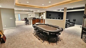 Take a Virtual Tour: $593K Lafayette home has bar with taps, movie theater