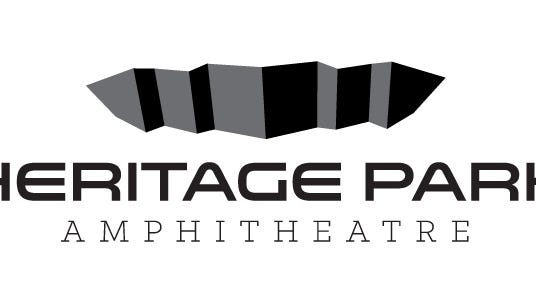 The new logo of the newly titled Heritage Park Amphitheatre.