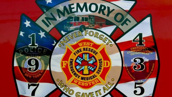 On Sunday December 22, the West Webster Fire District and the West Webster Volunteer Firemen's Association will be dedicating a Fallen Firefighters Memorial.