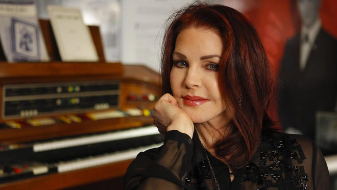 """Priscilla Presley, shown at Graceland in 2014, will take part in """"An Evening With Priscilla Presley: An Open Conversation"""" at the Pabst Theater Aug. 20."""