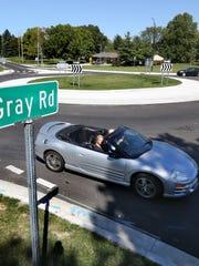 Carmel has nearly 100 roundabouts.