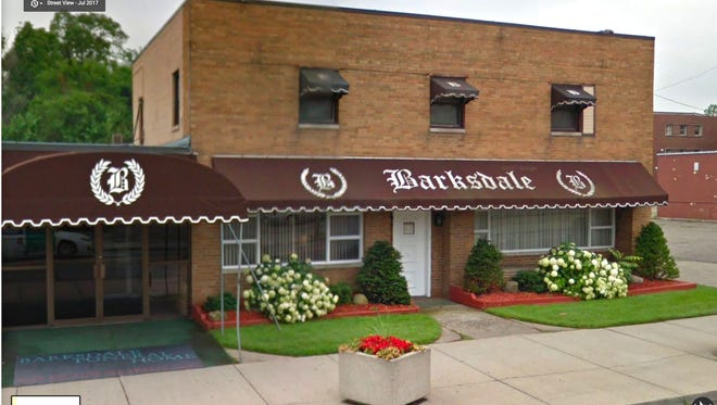 Barksdale Funeral Home in Detroit.