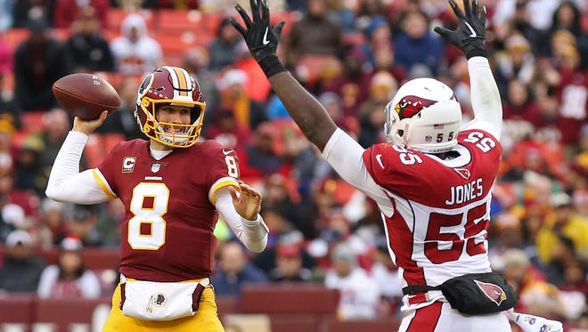 How would Kirk Cousins look in a Cardinals' uniform?