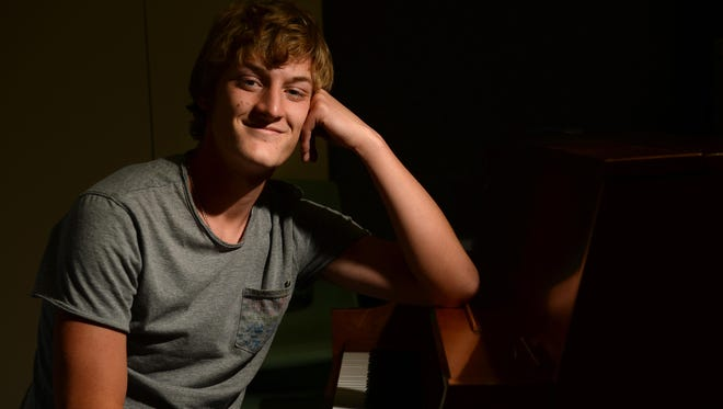 Power High School senior Andrew Jensen is a skilled musician and will be attending the University of Montana in the fall.