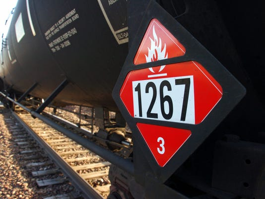 Crude oil trains