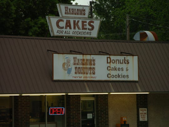 The Burr family has owned Harlow's Donut and Bakery for more than 30 years.