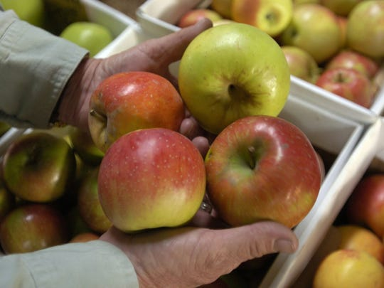 SunMom's Country Orchards store in Oak Glen boasts many varieties of apples.