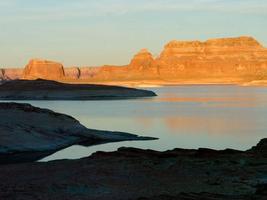 Lake Powell, part of Glen Canyon National Recreation Area, is a magnet for boaters and anglers.