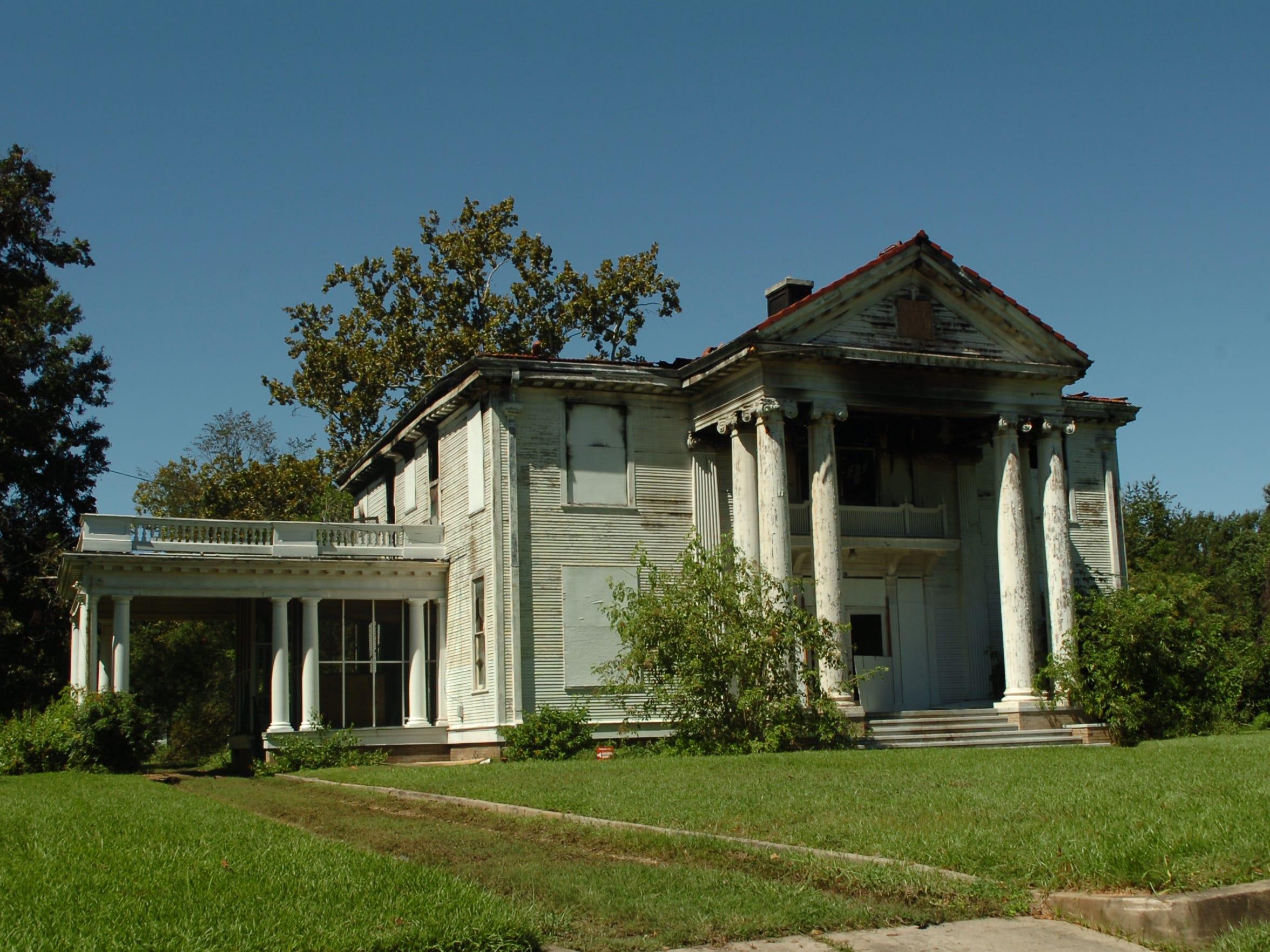 The Thompson-Hargis home on Florence Avenue was demolished
