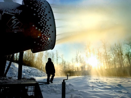 With temperatures dropping, local ski resorts plan to start making snow Thursday night.