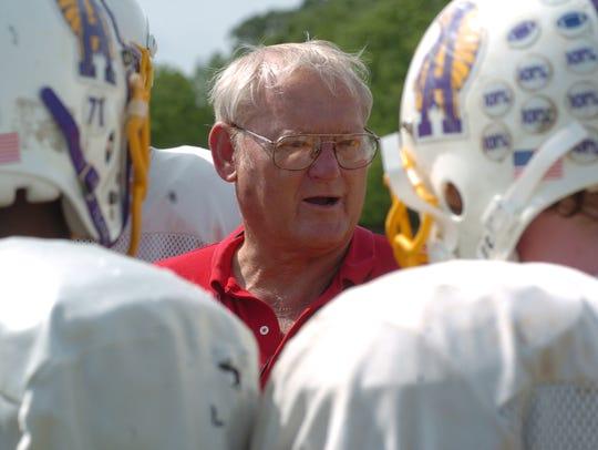 Butch Stoker coached Alexandria Senior High School