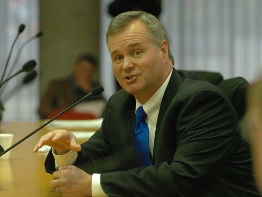 Knox County Commission Chairman Scott Moore on January