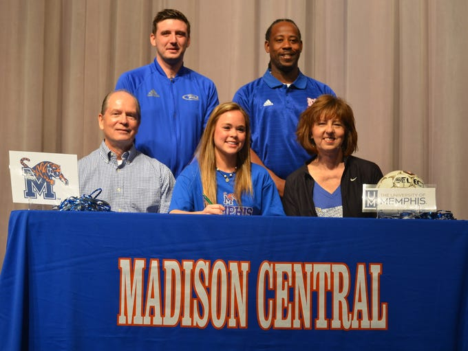 )Madison Central High School had several seniors participate