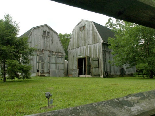 These barns at Bald Eagle Village on Beacon Hill Road