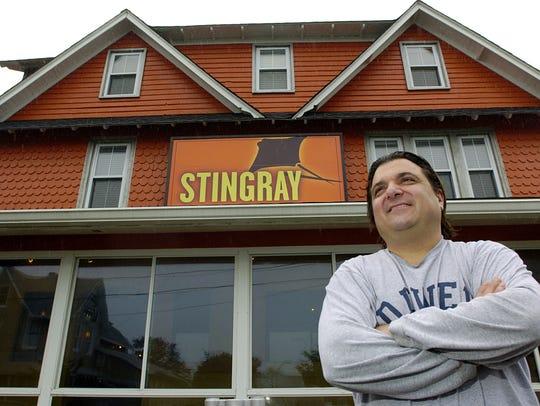 In 2008, Stingray owner Darius Mansoory stood in front