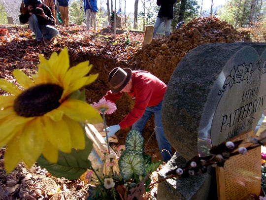 exhumation6.MP#6849    MICHAEL PATRICK/NEWS SENTINEL