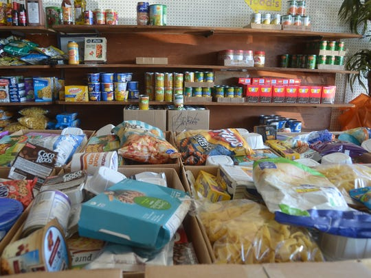Westmoreland Food Bank provides a variety of goods