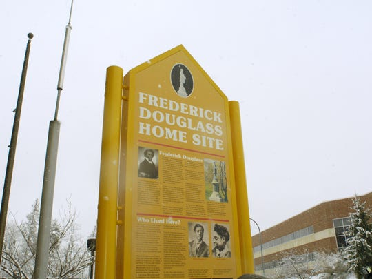 Frederick Douglass' home is now the site of James P.B. Duffy School 12 on South Avenue in Rochester.