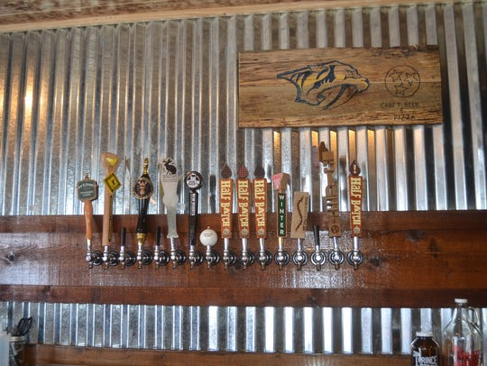 A variety of craft beer will be served at Portland Pizza & Pub.
