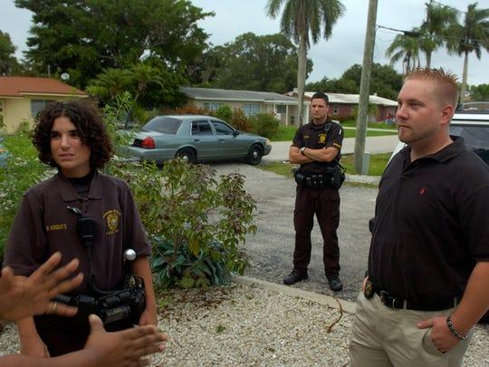 From left: Fort Myers Police Department Juvenile Arrest