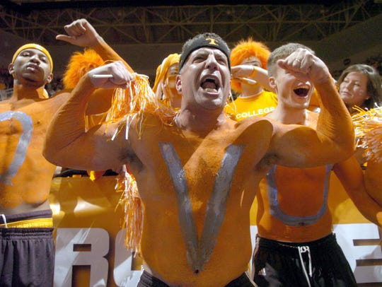 UT Men's basketball coach Bruce Pearl, stripped at