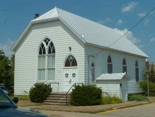 The Beth Israel Synagogue in Stevens Point is on the