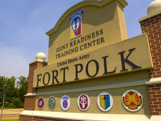 Fort Polk entrance